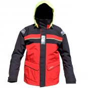 C4S Bergen Jkt Red/Carbon