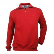 KW Cromwell/ 1/4 zip Red