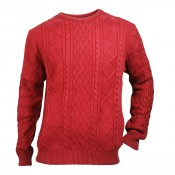 KW Clark Knit Washed Red