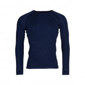 KW Merino Mens Crew neck navy