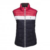 KW Angus M vest Navy/Red/White