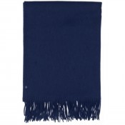KW Small Wool Scarf Navy