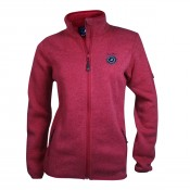 KW Etta fleece DAM Carmine Red