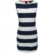 KW Brittany Dress Navy/Pearl