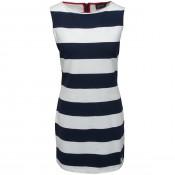 KW Brittany Dress Navy/Ecru