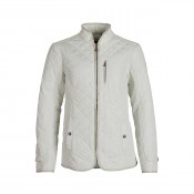 KW  Joyce Quilted Jkt Pearl