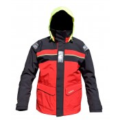 Bergen Jkt Red/Carbon