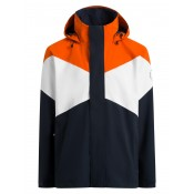 Nikolai Orange/White/Dark Navy