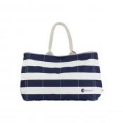 Beach Bag shopper Ecru/SR Navy