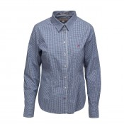 KW Yamouth Shirt Navy Check